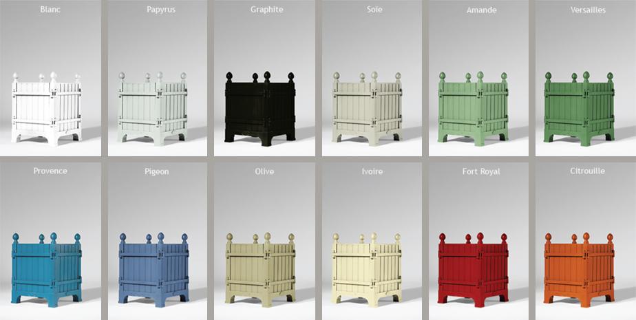 Versailles Planter Colors